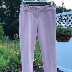 The Limited Blush Pink Ankle Pants